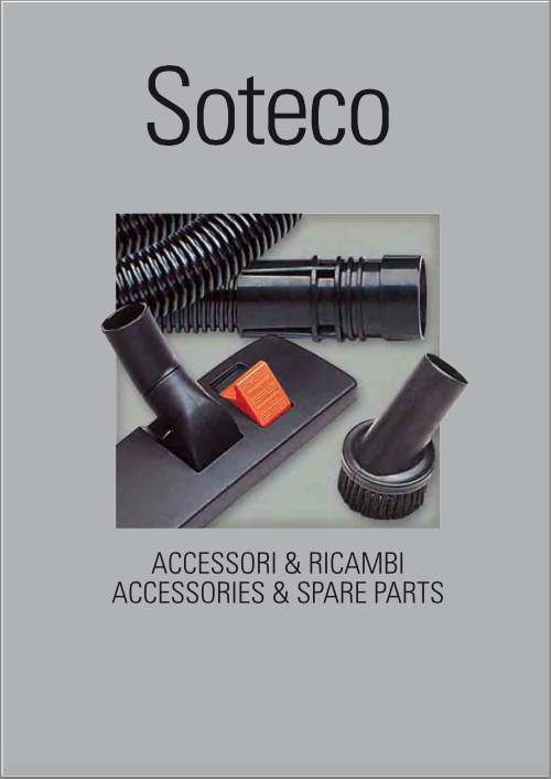 Catálogo de Acessórios para Aspiradores IPC Soteco