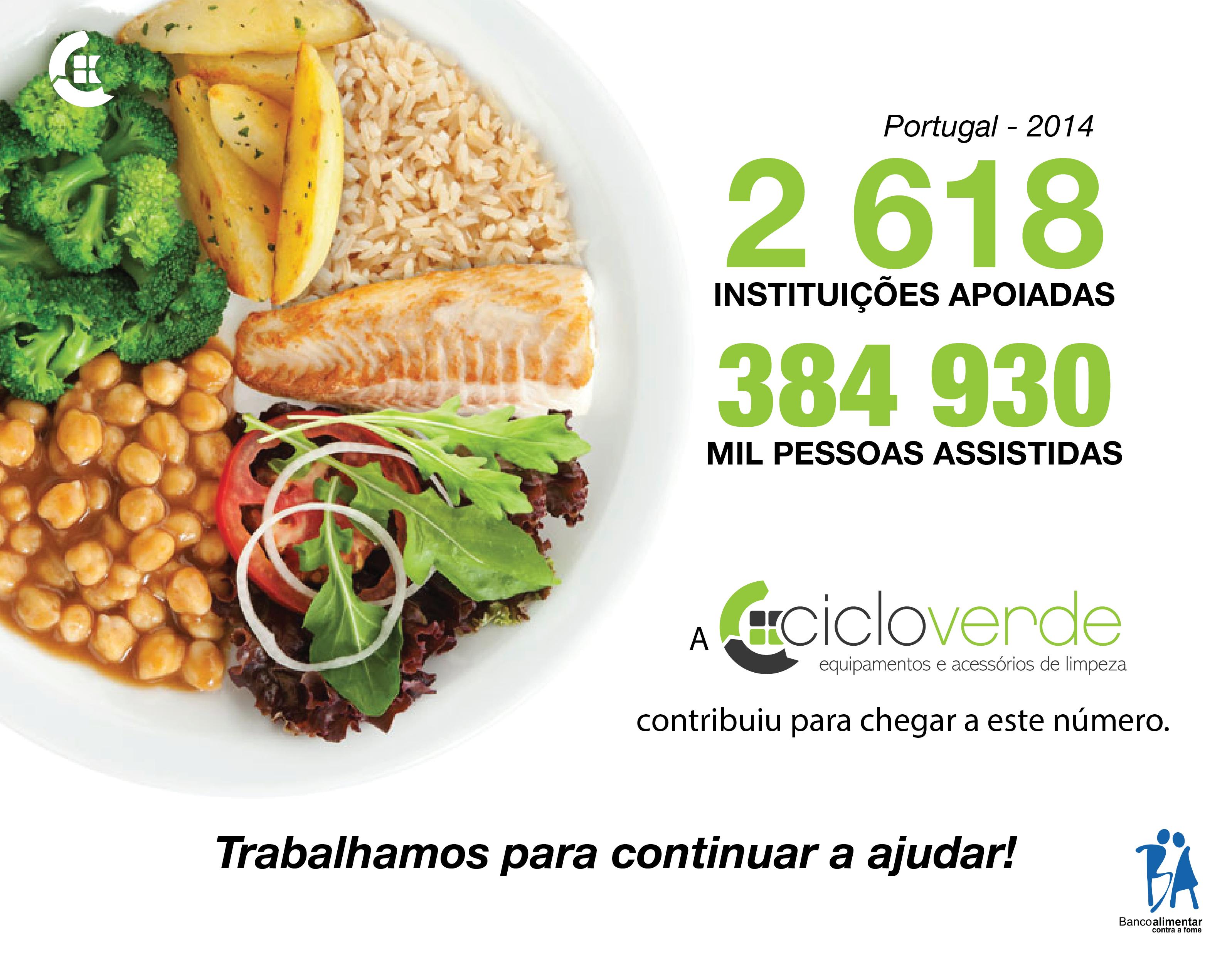 banco alimentar contra a fome ciclo verde